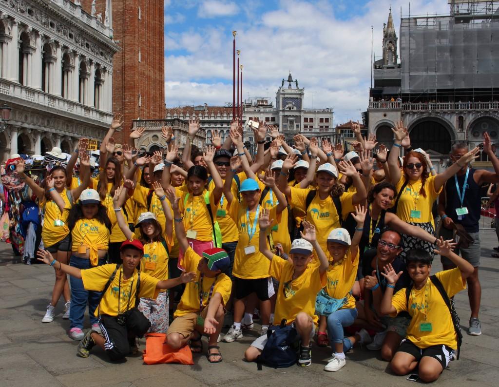 Il gruppo Junior e Young Adults in gita a Venezia