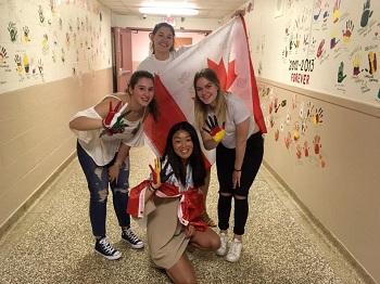 Valentina Anno Scolastico in Canada