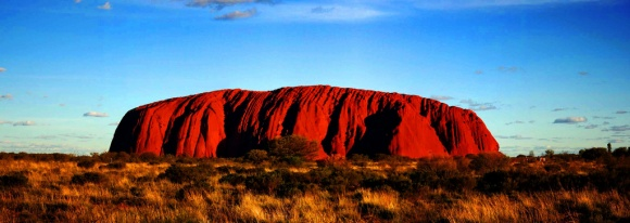 La red rock, enorme roccia australiana