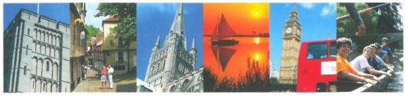 Norwich soggiorno studio per gruppi