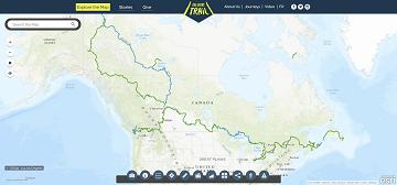 Canada trail percorso small